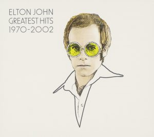 Greatest Hits 1970-2002 by Elton John: album cover