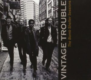 The Bomb Shelter Sessions by Vintage Trouble album cover